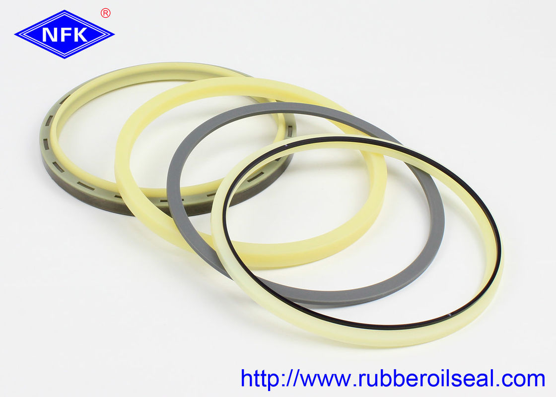High Pressure Hydraulic Boom,Arm seal Kit PU 801 Rebuild For CATERPILLAR E374D Excavator